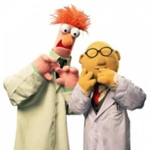 Die alter Egos der Schaffer: Assistent Beaker und Dr.Bunsen